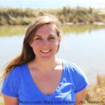 Shelby Ziegler ENEC PhD Student at IMS studying how salt marshes affect fish nursery habitats
